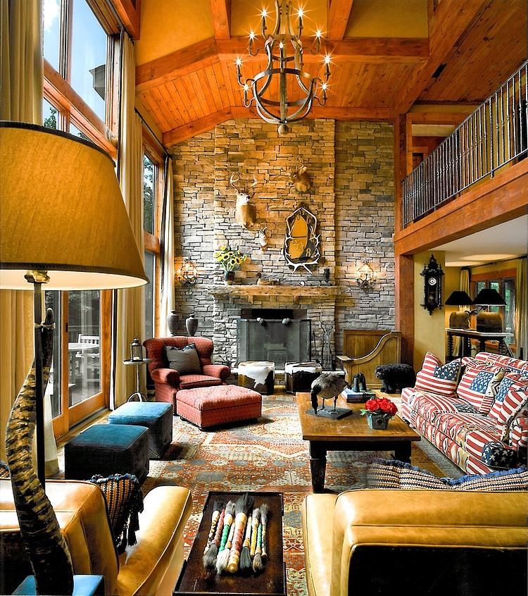 Mountain Retreat by Eberlein Design Consultants | Home Adore