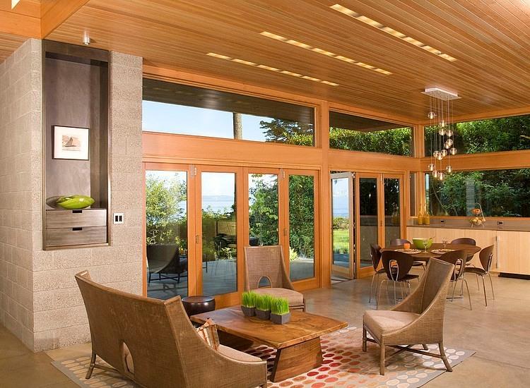 Home Design Ecological Ideas: طراحی داخلی و معماری خانه ویلایی الیس