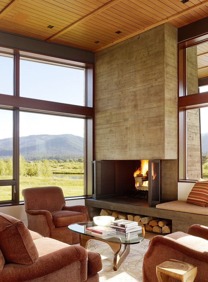 Indian Springs Ranch Residence by Carney Logan Burke Architects