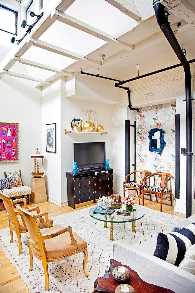 Modern Bohemian Loft By Design Manifest Homeadore