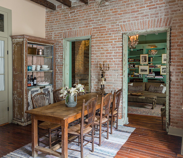 Serenity In Design: French Quarter Condo